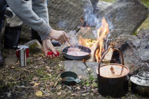 6 ชุดหม้อสนาม อุปกรณ์ทำอาหาร